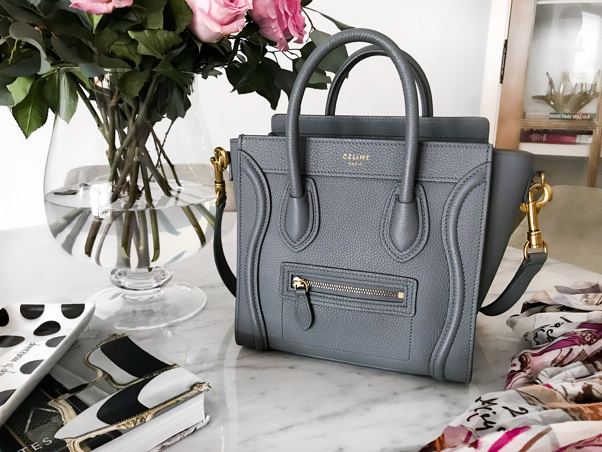 Celine Nano Luggage Review What S In